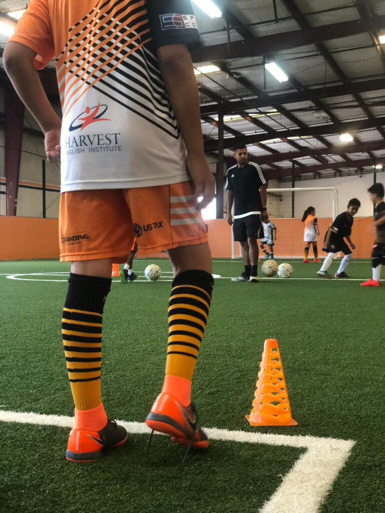 youth indoor soccer drills